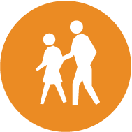 icon of people walking