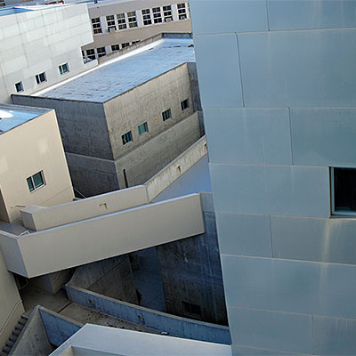 Top view of Social Sciences and Humanities building